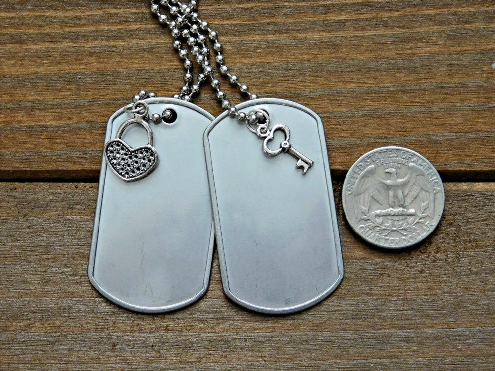 style serenity dog military tag prayer necklace