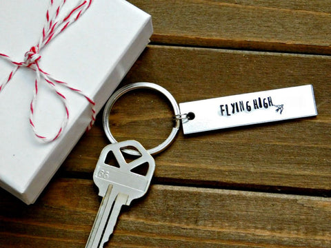 Best Man Keychain Wedding Party Favor Custom Gift Personalized Stamped