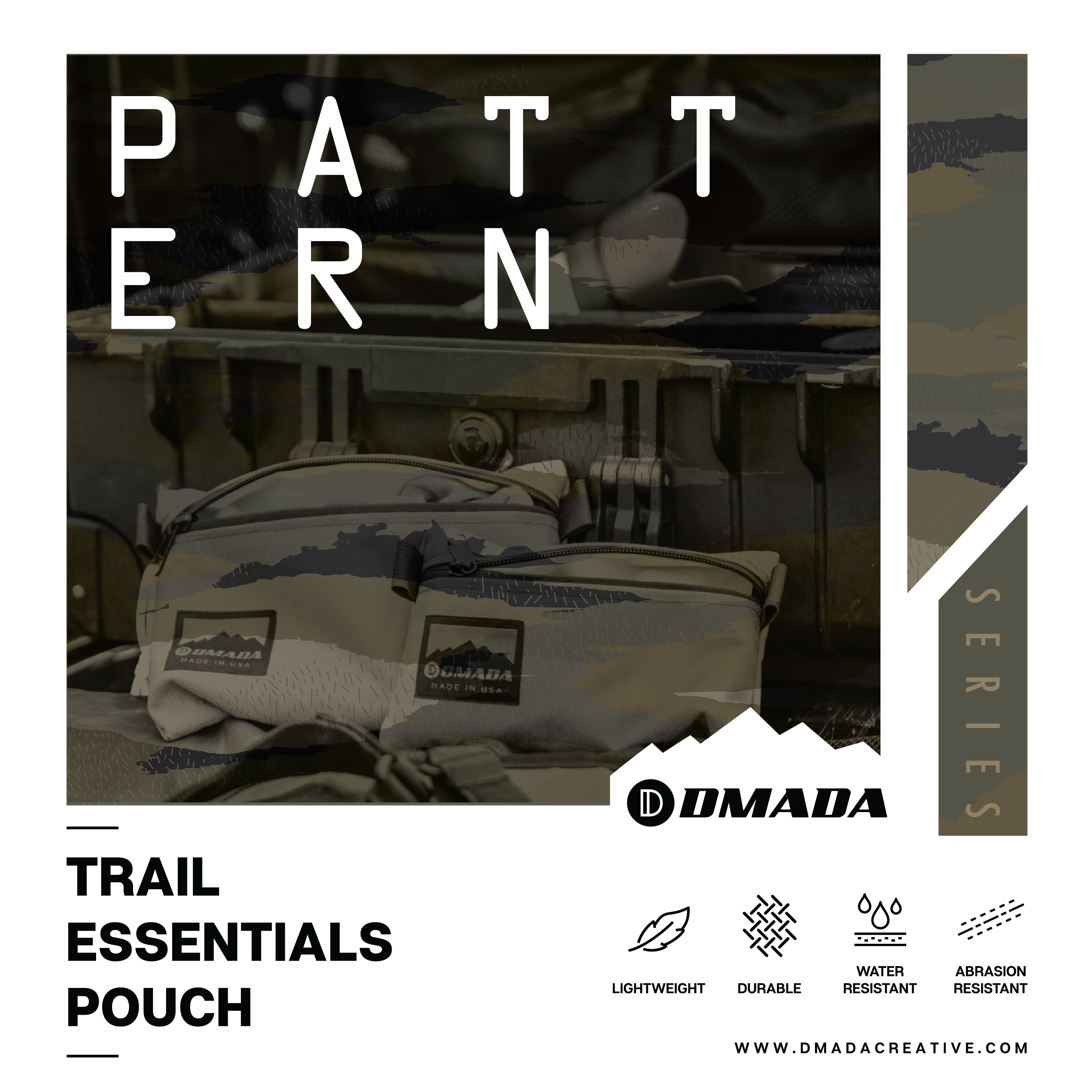 Trail Essentials Pouch - Printed Series