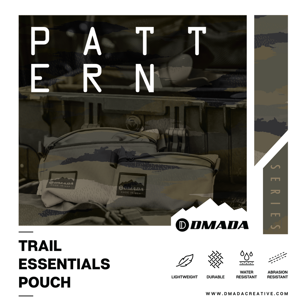Trail Essentials Pouch - Printed Series (LAUNCHING 2/7/2020)