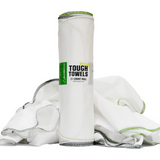 Tough Towels (Lightweight) | All-Purpose Reusable Paperless Towels, 21-Count Roll, 100% Cotton