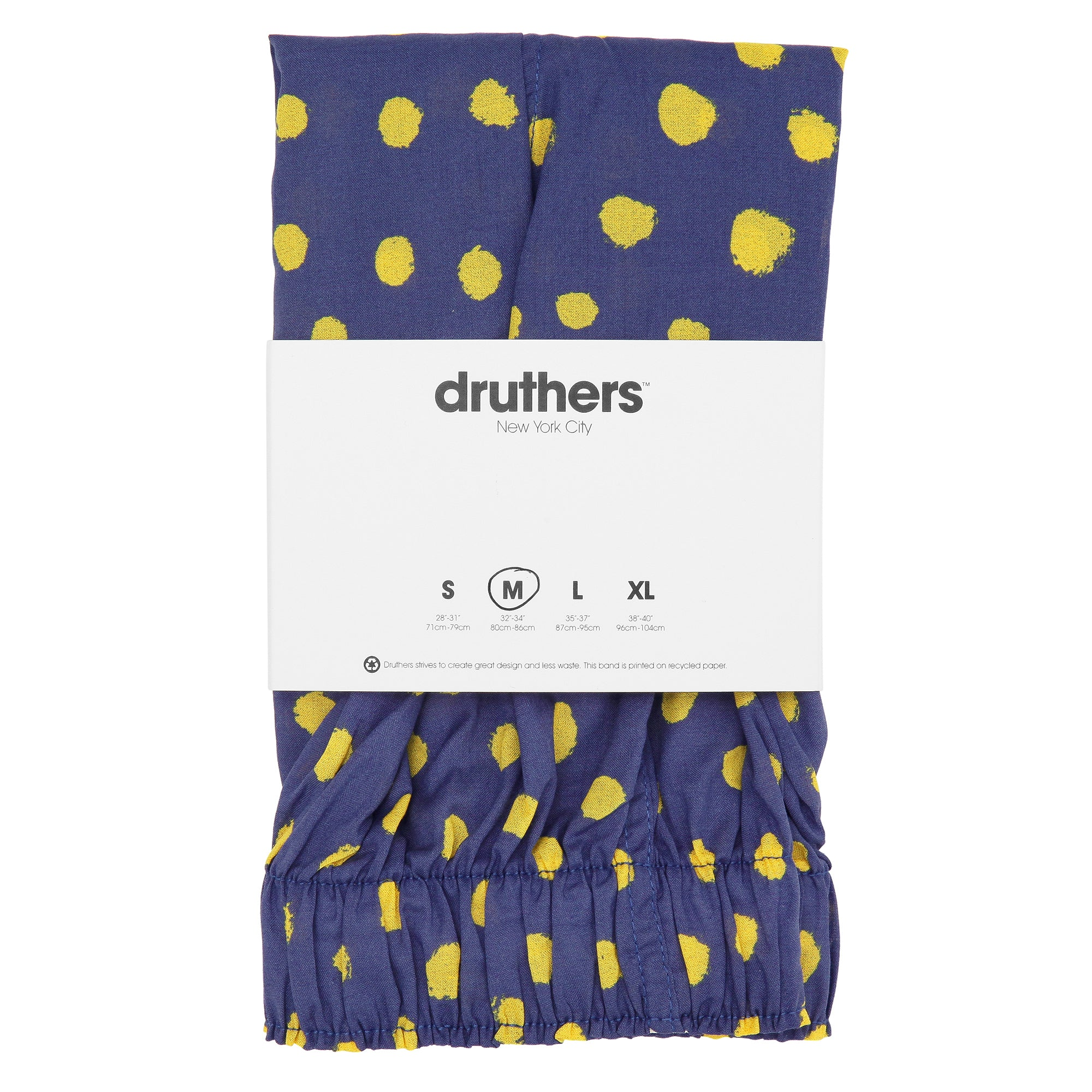 Organic Cotton Marker Dots Boxer