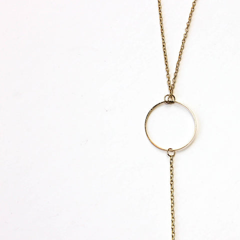 OY Necklace | Gold - Fleur and Felix - 1