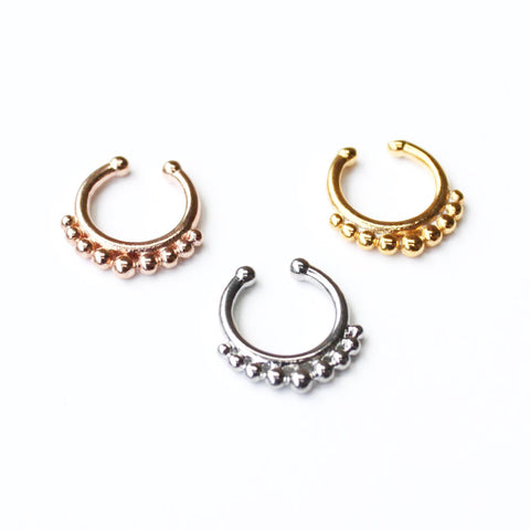 Babylon Septum [faux] - Fleur and Felix - 1
