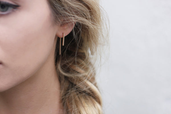 Fold Earrings | Gold - Fleur and Felix - 2