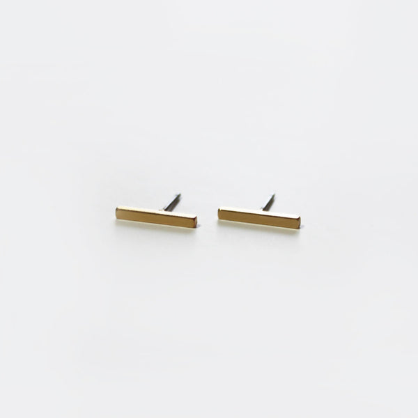 Bar Earrings | Gold - Fleur and Felix - 5