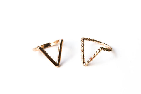 V Rings | Gold - Fleur and Felix - 1