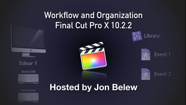 Final Cut Pro X Workshop: Workflow and Organization