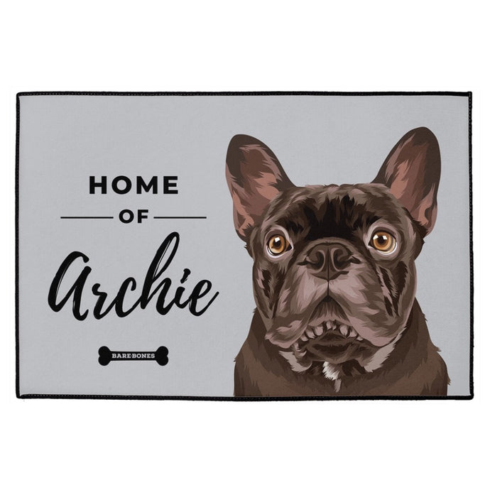 Custom Pet Portrait Doormat