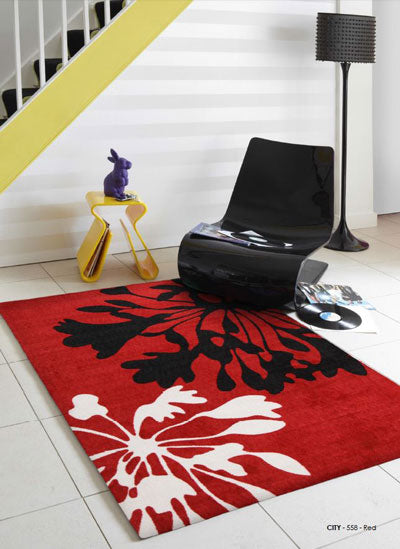 City Red Rug