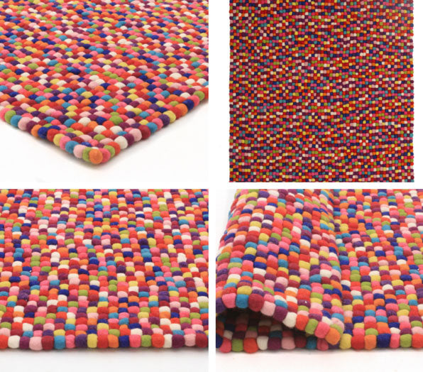 gumball rectangle rug