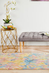 Rug Culture Dreamscape 855 Tropical Runner Rug