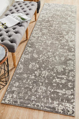 Rug Culture Evoke 264 Grey Runner Rug
