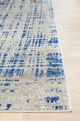 Rug Culture Mirage Ashley Abstract Modern Blue Grey Rug