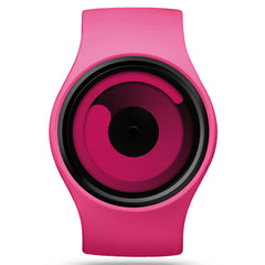 ZIIIRO GRAVITY Magenta Trendy Gift Watch for Men and Women