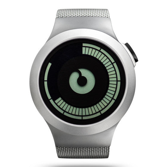 ZIIIRO SATURN Chrome Fashion Watch for Men