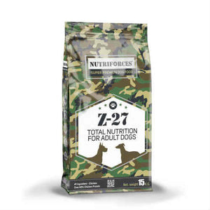 נוטריפורס לכלב 18 ק״ג z27 nutriforces - super4pet