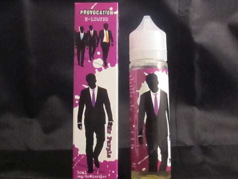 Provocation Liquid 50ml Shortfill Mr Purple