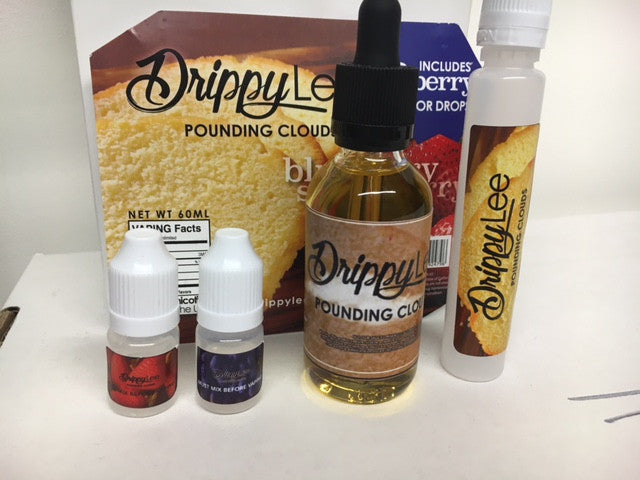 Drippy Lee Pound Clouds E-Liquid UK