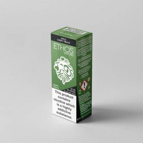 Ethos Apple Crispy Treats E-Liquid UK
