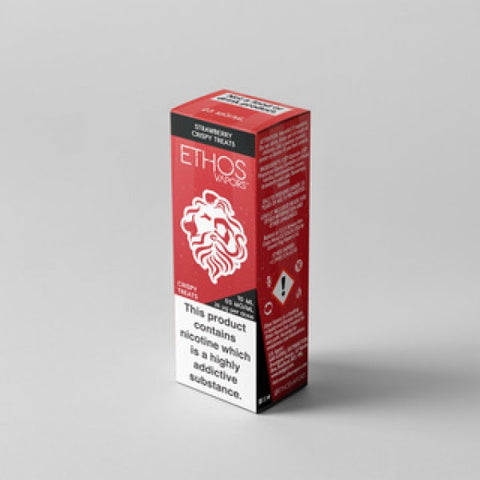 Ethos Strawberry Crispy Treats E-Liquid UK