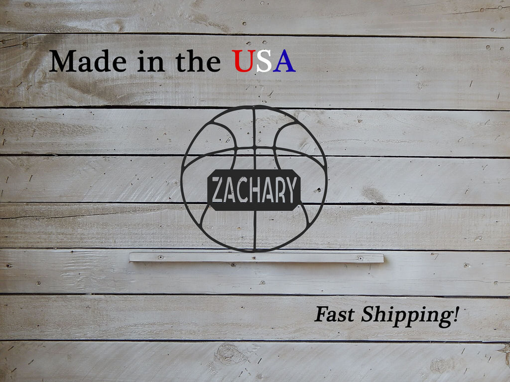 "12"" Kid's Basketball with Name Plate"