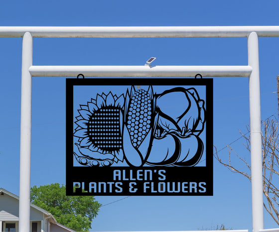 Produce Sign, Vegetable Garden Sign