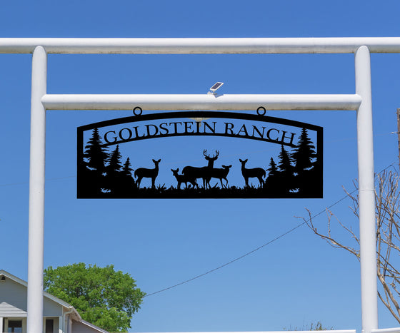 Deer Ranch Sign