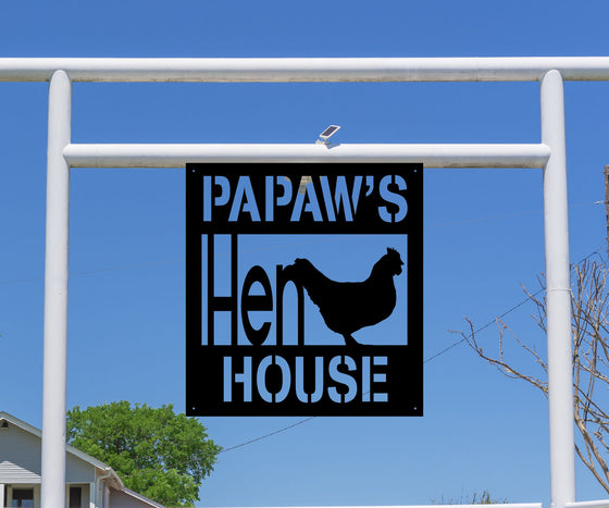 Hen House Farm Sign