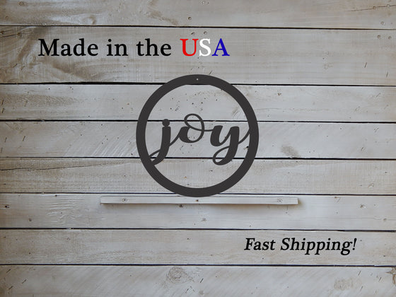 "10"" Joy Metal Door Hanger"