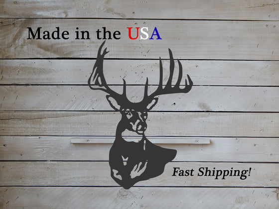 12 Point Buck Deer Decor