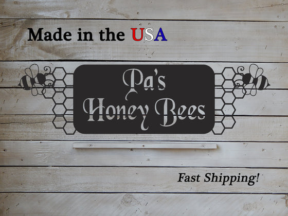Honey Bee Sign Business Sign