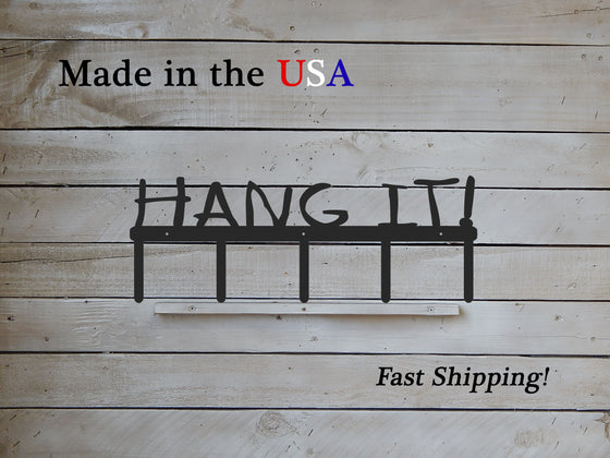 Hang It! Coat Rack