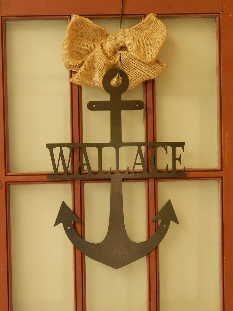 "20"" Anchor with Name"