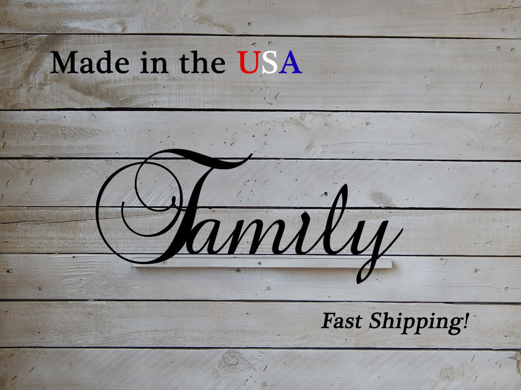 Elegant Family Sign