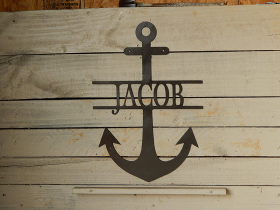 "14"" Anchor with Name"