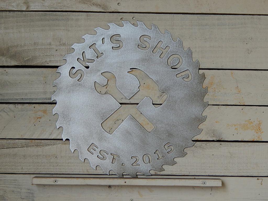 Smaller Established Workshop Sign