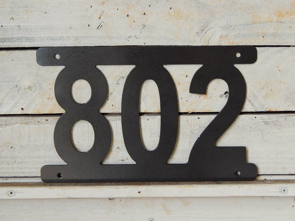 Simple House Number Plaque