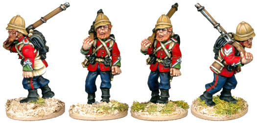 28mm Zulu Wars British
