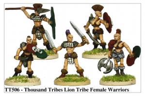 TT506 - Thousand Tribes Lion Tribe Female Warriors