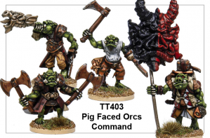 TT403 - Pig Faced Orcs Command