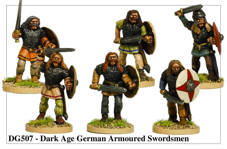 Armoured Dark Age Swordsmen (DG507)
