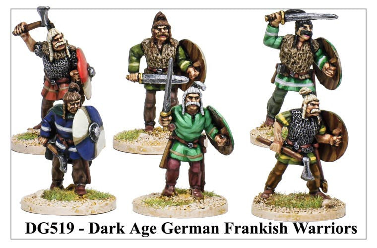 Dark Age Frankish Warriors (DG519)