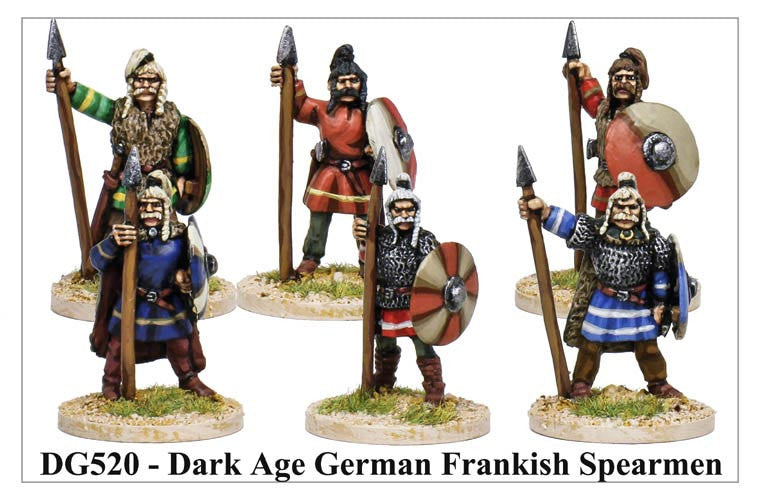 Dark Age Frankish Spearmen (DG520)