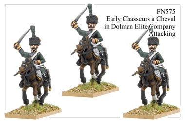 Early Chasseurs à Cheval Elite Company in Dolman Attacking (FN575)