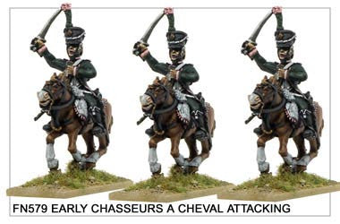 Early Chasseurs à Cheval Attacking (FN579)