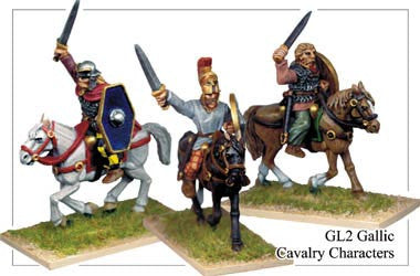 Gallic Cavalry Characters (GL002)