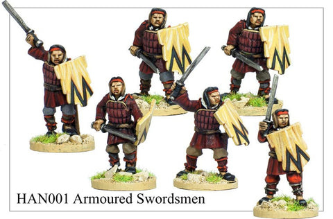 Armoured Chinese Swordsmen (HAN001)