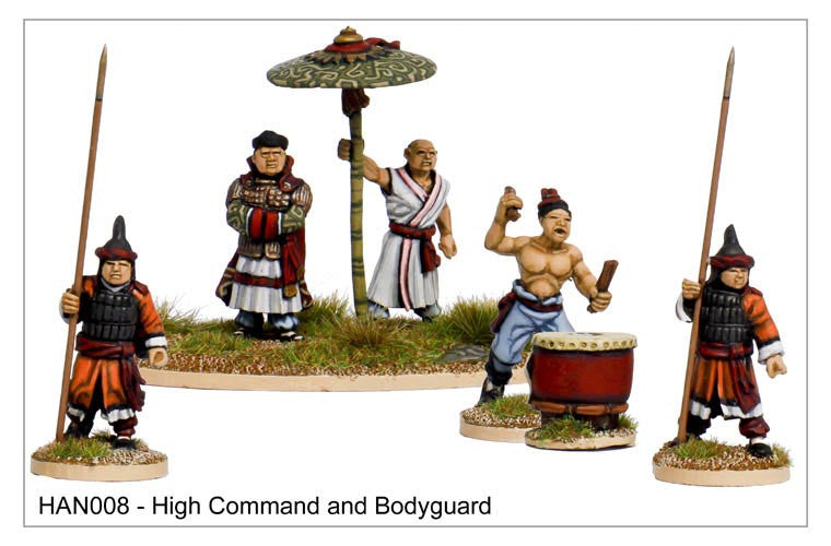 Chinese High Command and Bodyguard (HAN008)
