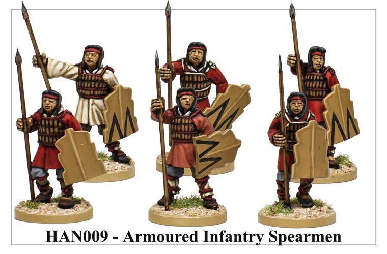 Armoured Chinese Spearmen (HAN009)